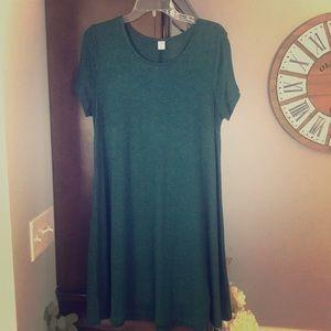 Old Navy plush knit swing dress. Size large.